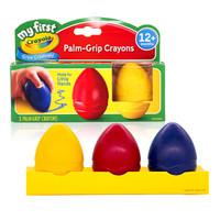 Crayola 绘儿乐 81-1345 3色蛋型幼儿涂鸦蜡笔
