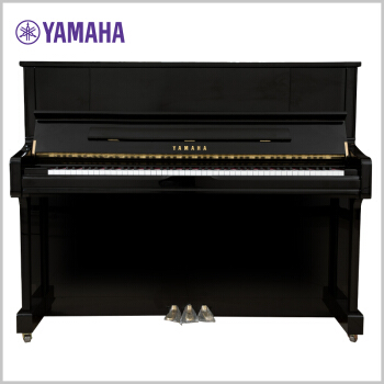 YAMAHA 雅马哈 U1J 立式专业钢琴(黑色)