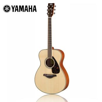 YAMAHA 雅马哈 FS800 单板民谣木吉他(原木色)
