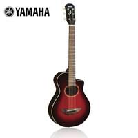 YAMAHA 雅马哈 APXT2DRB薄箱体缺角电箱jita旅行吉他舞台演奏民谣吉他儿童吉它34寸深红渐变