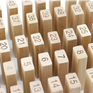 木玩世家 木玩世家 原木层层叠 50片