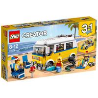 LEGO 乐高 创意百变组系列 31079 阳光海滩房车
