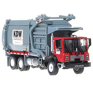 Cadeve 凯迪威  工程汽车模型 1:24环卫清洁垃圾车