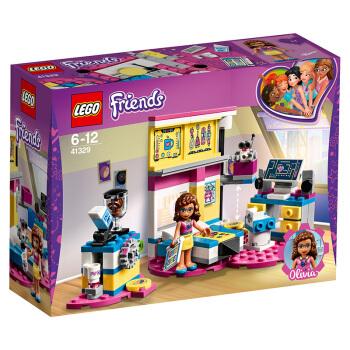 LEGO 乐高 好朋友系列 41329 奥莉薇亚的豪华卧室