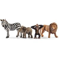 Schleich 思乐 野生动物套装模型