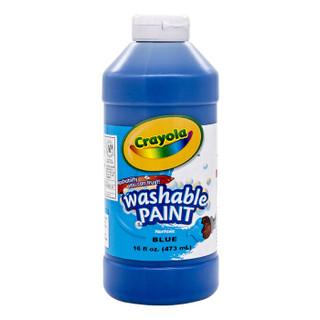 Crayola 绘儿乐 54-20167042 16盎司可水洗儿童颜料(蓝色)