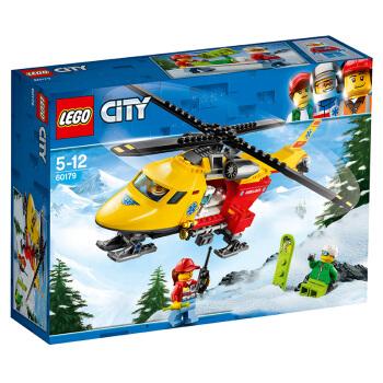LEGO 乐高 城市组系列 60179 急救直升机