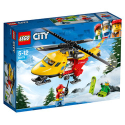 LEGO 乐高 城市组系列 60179 急救直升机 *2件