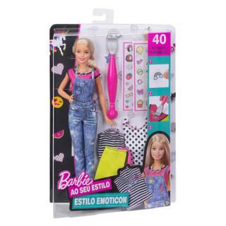 Barbie 芭比 DYN93 Emoji娃娃