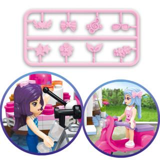 ENLIGHTEN 启蒙 女孩系列 2003 益智拼装积木 艾比的咖啡小屋