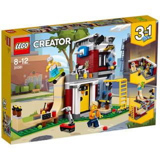 LEGO 乐高 创意百变组系列 31081 滑板玩乐屋