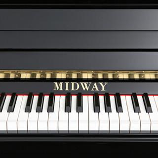MIDWAY 美德威 UD-31S 立式钢琴 (黑色)