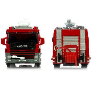 Cadeve 凯迪威 工程系列 625013 1:50 合金水罐消防车