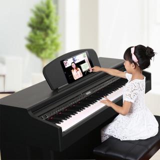 MIDWAY 美德威 S70 88键重锤电子钢琴(黑色)