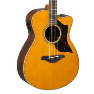 YAMAHA 雅马哈 AC1RVN 缺角单板电箱木吉他(原木色)40英寸