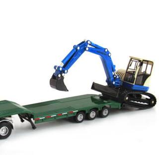 Cadeve 凯迪威 工程系列 625038 平板拖车带挖掘机
