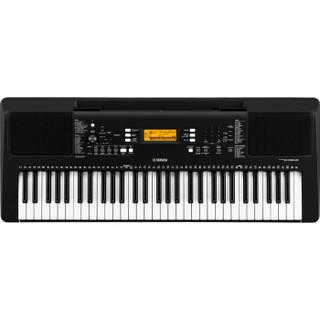 YAMAHA 雅马哈 61键力度键 E363出厂配置 电子琴 (黑色)