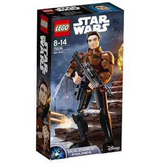 LEGO 乐高 星球大战 汉索罗积木