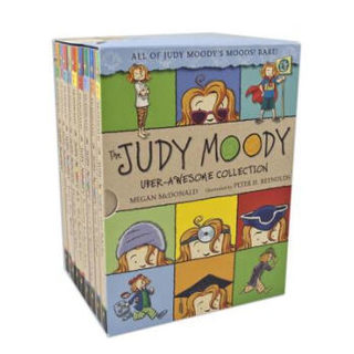 《The Judy Moody Uber-Awesome Collection: Books 1-9》 英文原版