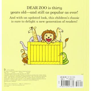 《Dear Zoo: A Lift-the-Flap Book  趣味动物园立体翻翻书》( 英文原版)
