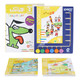 《逻辑狗:幼儿园小班儿童思维数学游戏益智玩具早教启蒙学习机教材教具》(5本题册+6钮操作板) 159元,可200-100