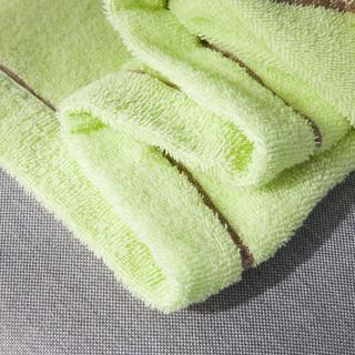 九洲鹿 全棉毛巾被 利亚绿 140*190cm