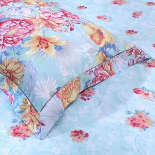 FUANNA 富安娜 贡缎床上用品四件套 罗马庄园 1.8m