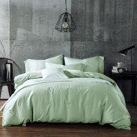OBXO 源生活 纯棉床上用品四件套 浅绿色 1.8m床