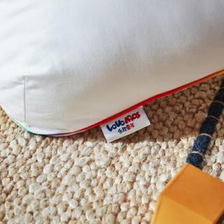 LOVO罗莱生活出品 儿童用枕头熊兜兜防螨纤维枕芯 47*73cm