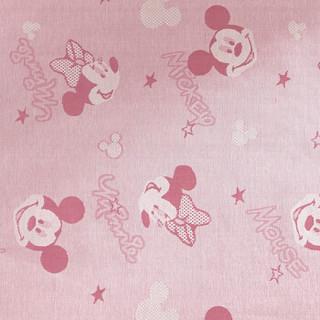 Disney 迪士尼 儿童卡通冰丝凉席 粉色 180*200cm