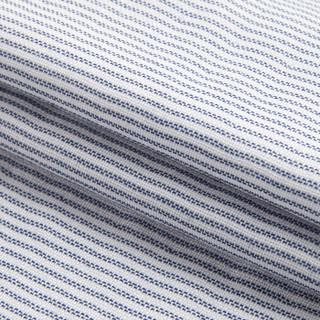 DAPU 大朴 棉纱布条纹枕巾 蓝色条纹 50*80cm 一对装