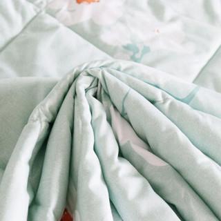 自然醒 可水洗纤维被 初春绿 150*200cm