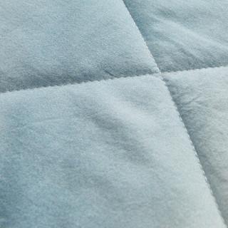 DAPU 大朴 纱布印花棉花薄被 蓝色 200*230cm