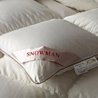 SNOWMAN 斯诺曼 95%白鹅绒羽绒被 白色 180*220cm