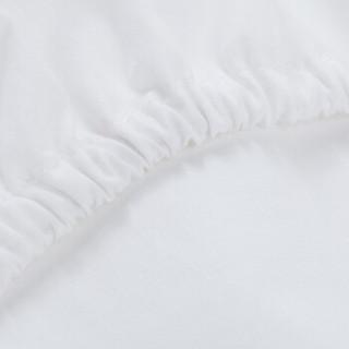 DAPU 大朴 纯棉本白床笠式保护垫 150*200cm