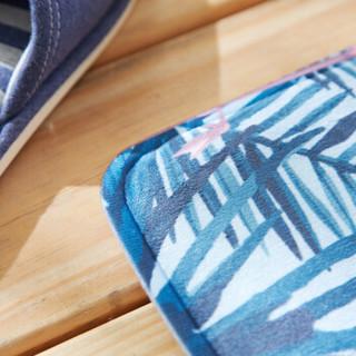 九洲鹿 地垫 加勒比红鹤 40*60cm