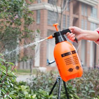 农宝 花卉植物浇水壶 浇花洒水壶 园艺浇灌水壶 家居家用洒水壶 气压喷壶 3.0L喷壶 橙色