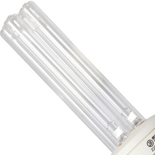 雪莱特 简易款紫外线消毒灯 25W家用杀菌灯 幼儿园宠物室内灭菌灯除螨灯 无臭氧 单支常规E27接口