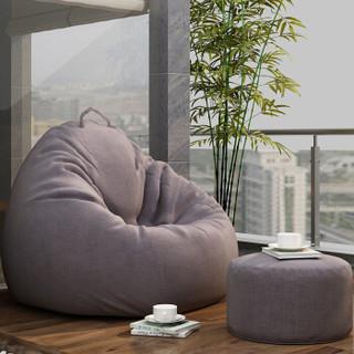 安尔雅 ANERYA 懒人沙发床豆袋单双人客厅创意休闲简易多功能榻榻米摇摇椅布艺非实木小沙发躺椅