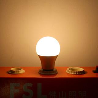 FSL 佛山照明 LED球泡 E27大口黄光 7W