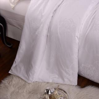 江南古韵 被芯 100%桑蚕丝被子 夏凉被 空调被 桑蚕丝填充 全棉提花面料 回眸 蚕丝2斤 200*230cm
