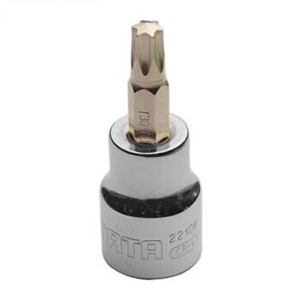 SATA 世达 22108 花型旋具套筒头 10MM系列 T45(2个装)