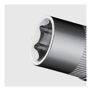 SATA 世达 10mm系列 12301 6角套筒 公制六角套筒头 6mm(10个)