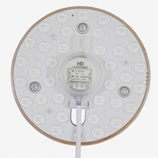 HD LED吸顶灯改造灯板 LED模组 卧室阳台灯光源快换式芯片改装灯板 24W三色调光