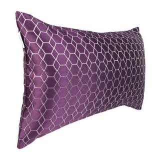 Homix 海因斯 维多利亚腰枕 宫廷紫 30*50cm