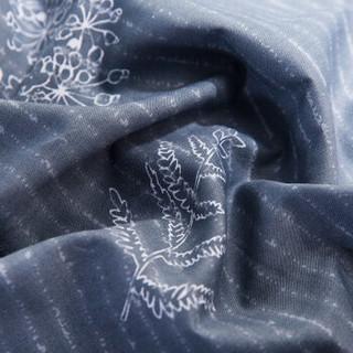 RUIKASI 瑞卡丝 全棉斜纹印花床单式四件套 欧诺拉 1.8m床
