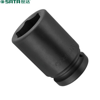 SATA 世达 1寸系列 34907 六角风动长套筒 重型套筒 19mm