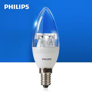 PHILIPS 飞利浦 led灯泡 E14小螺口摇曳拉尾烛泡 3w