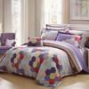 LUOLAI罗莱家纺 198纱支纯棉四件套 全棉床上用品床品套件床单被罩 AD5077跃 200*230 399元