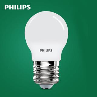 PHILIPS 飞利浦 LED球泡 E27大口 白色 2.5W